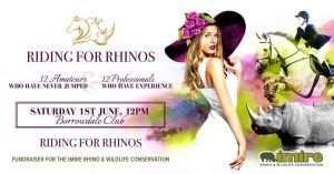 Riding for Rhinos @ Borrowdale Club