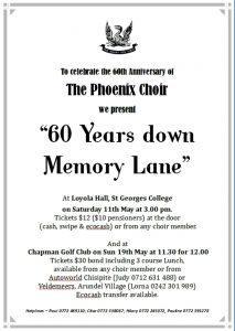 60 Years Down Memory Lane @ Loyola Hall, St George's College