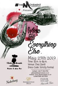 Wine and Everything Else @ Chez Zandi