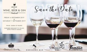 Wine, Beer & Gin Festival @ Queen of Hearts Cafe